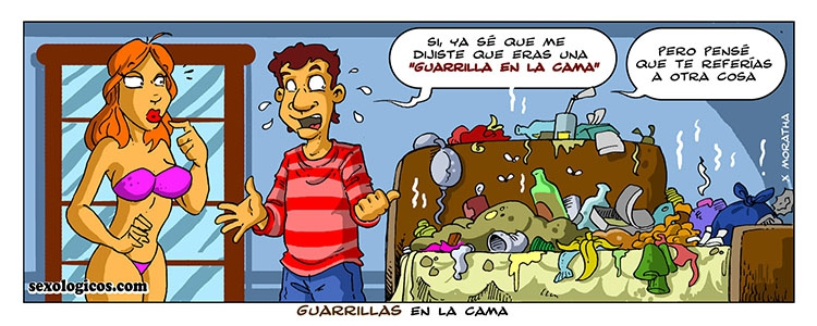 05.Guarrillas en la cama